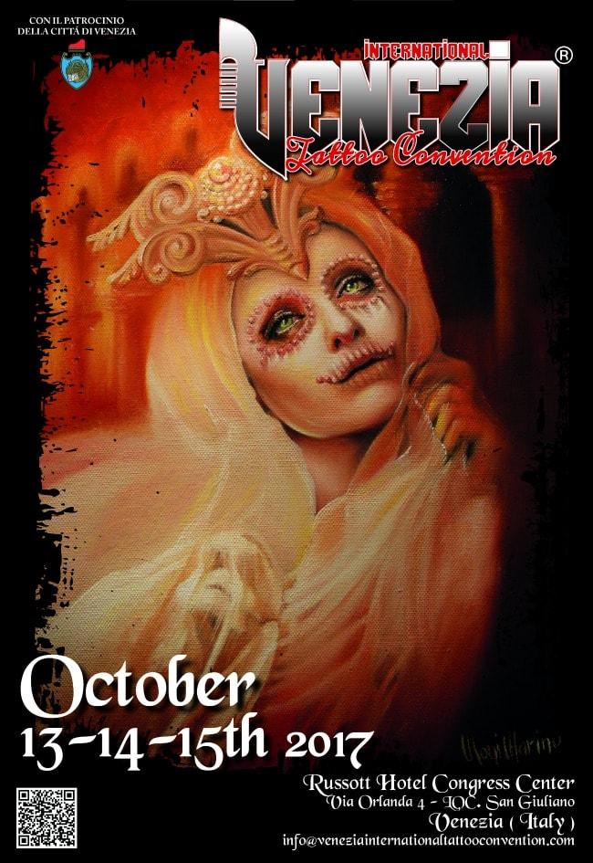 Venezia tattoo convention 2017 13 15 oktober 2017 for Nc tattoo conventions 2017