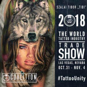 the world tattoo industry trade show las vegas 2018, Tibor Szalai
