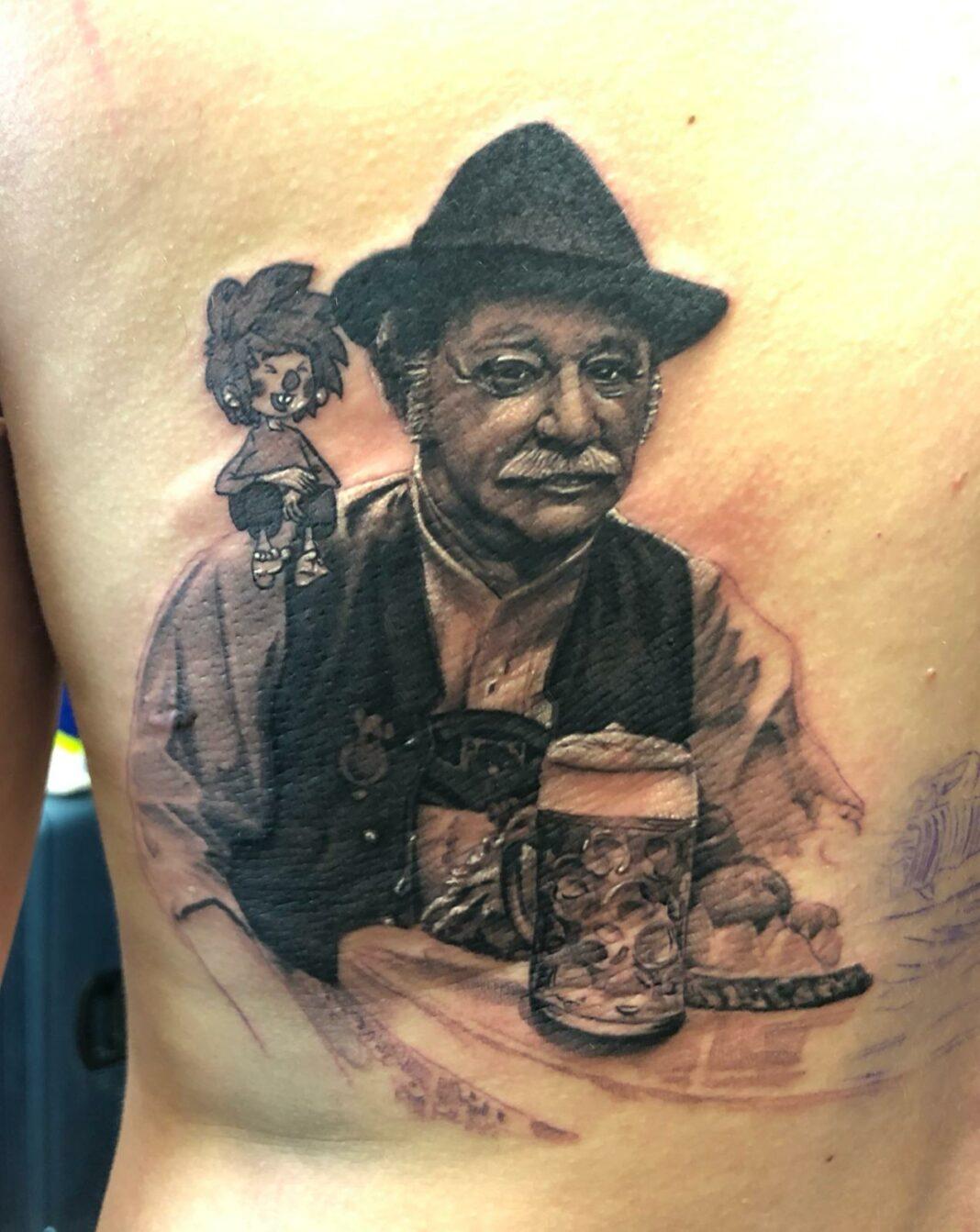 Pumuckl Tattoo