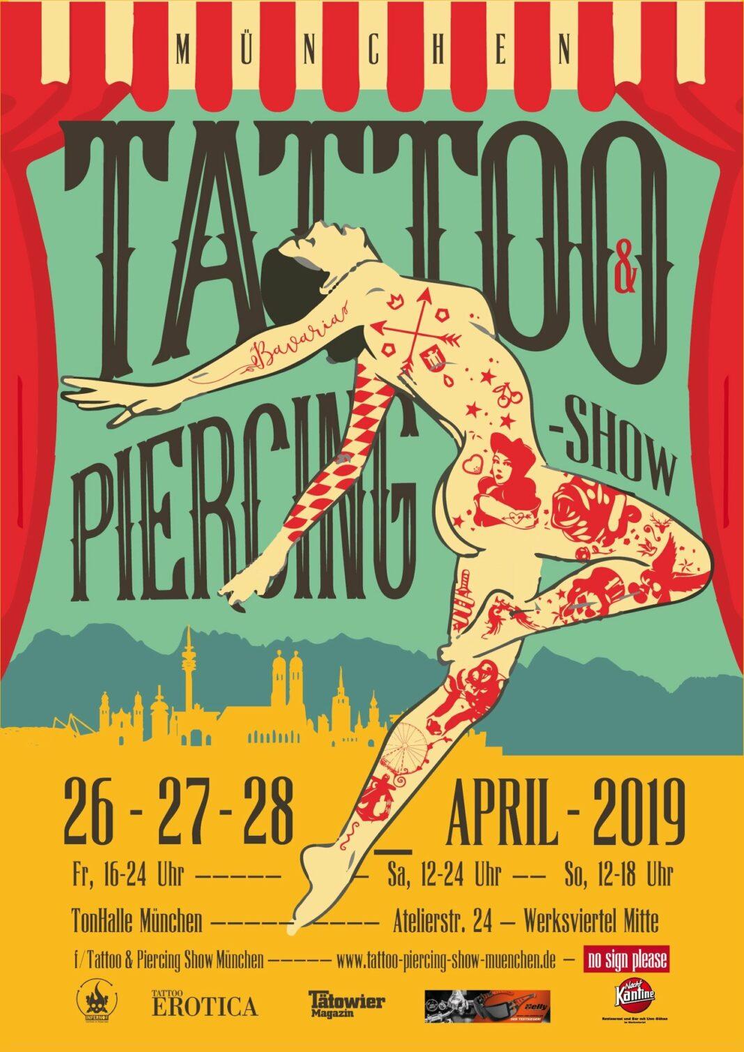 Tattoo Convention München 2019
