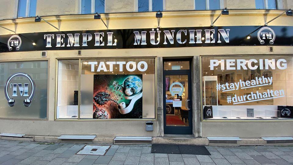 Tempel München Tattoo Studio in Haidhausen