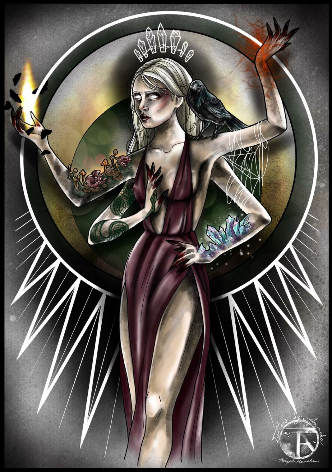 Hexe, Tätowiererin Annika
