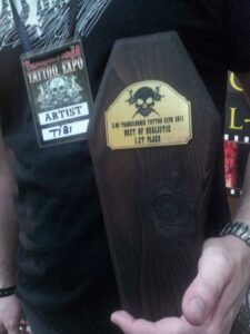 Transilvania Tattoo Expo 2011 First Place Best of Realistic