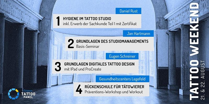 European Tattoo Panel, Tattoo Weekend