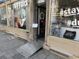 Tattoo München Barrierefrei Rollstuhl Tattoostudio