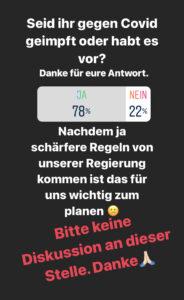 Corona Umfrage Instagram
